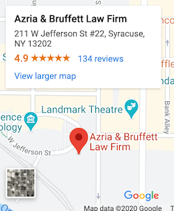 Directions to Azria & Bruffett Law Firm, Divorce, Criminal, and Traffic Lawyers